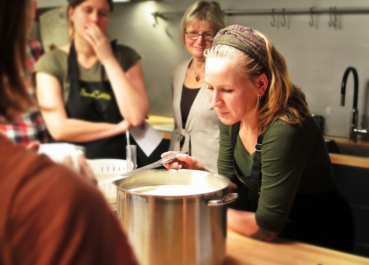 Un corso di cucina tra innovazione e tradizione