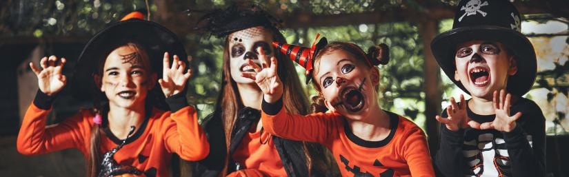 halloween: trucco bambini